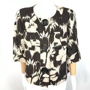Michael By MICHAEL KORS Floral linen Jacket
